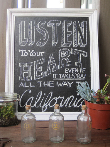 California is the place to BE!