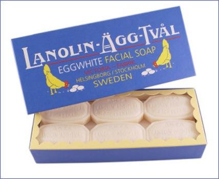 Egg White Soap via Tinsel Creation
